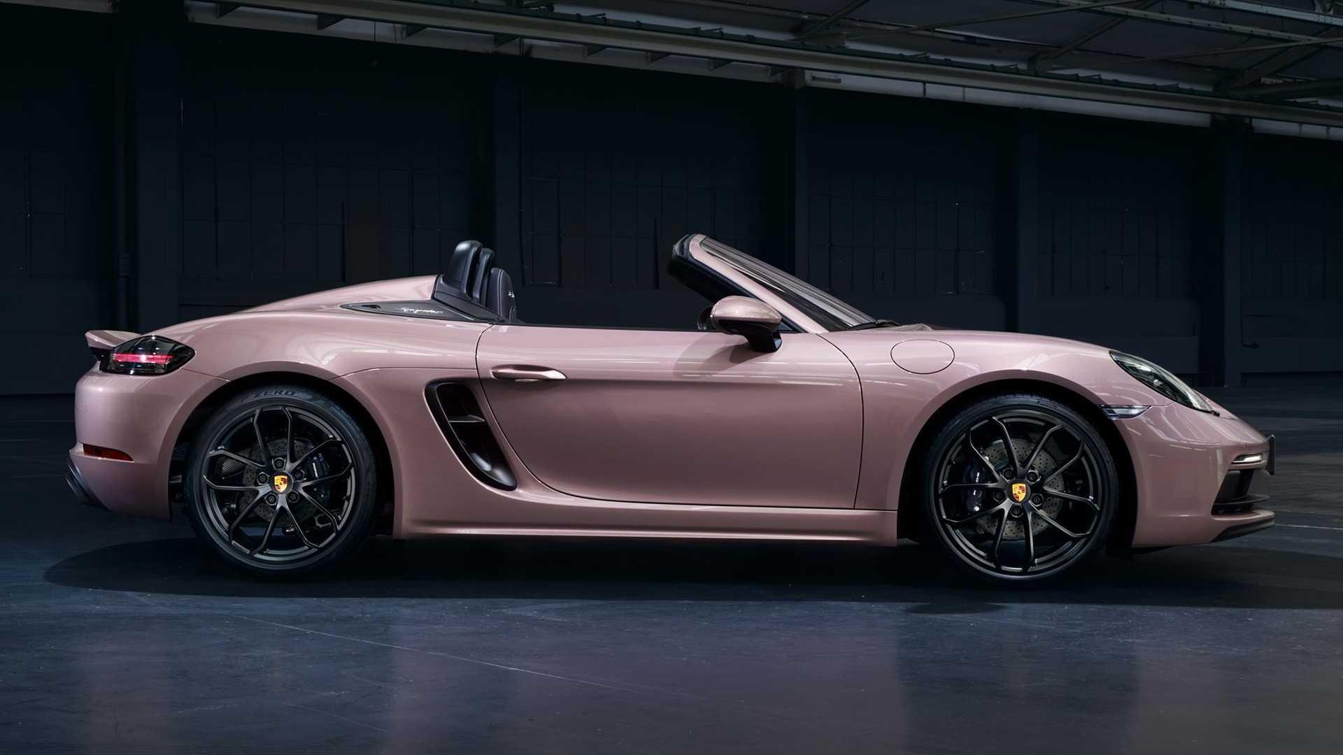Porsche 718 spyder 2021 4 cylindres 4
