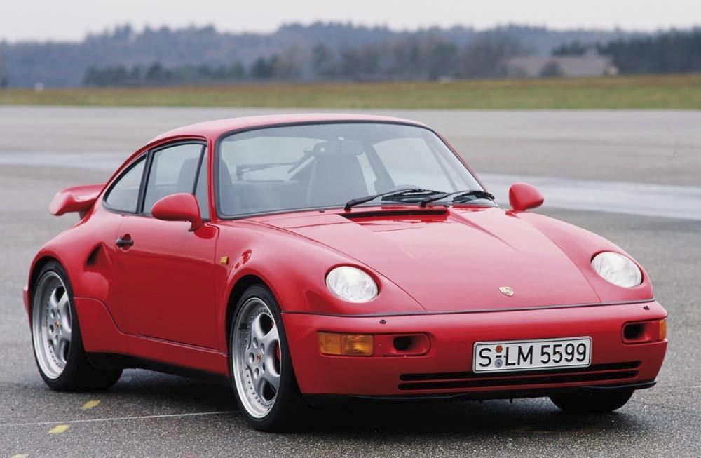 Porsche 964 turbo s slant nose rouge face