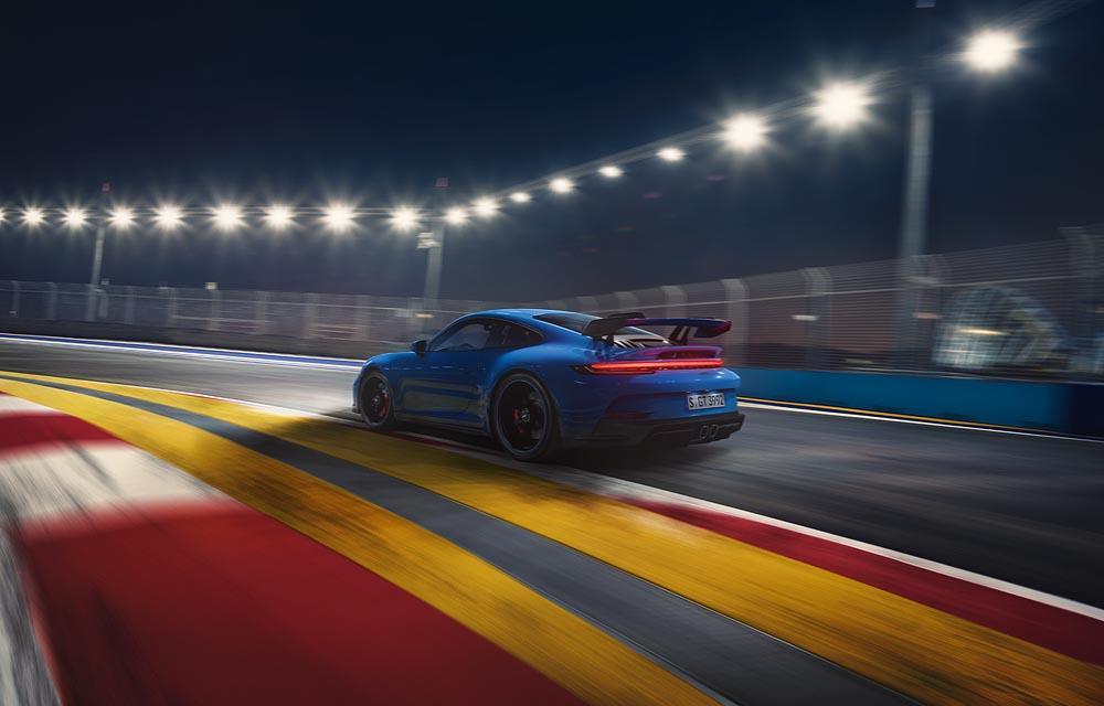 Porsche 992 gt3 arriere