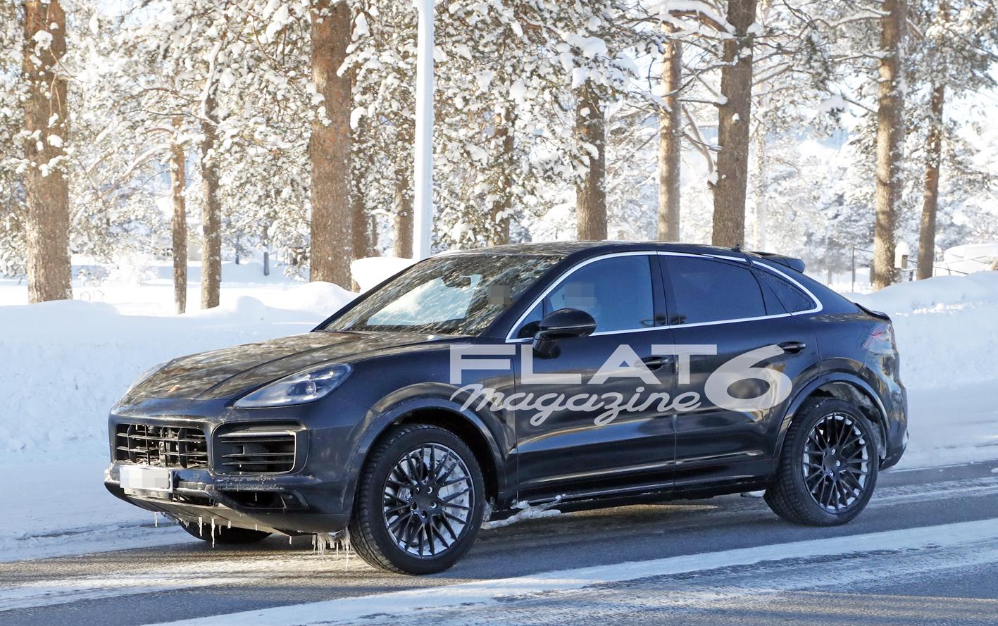 Porsche cayenne coupe winter 4 2