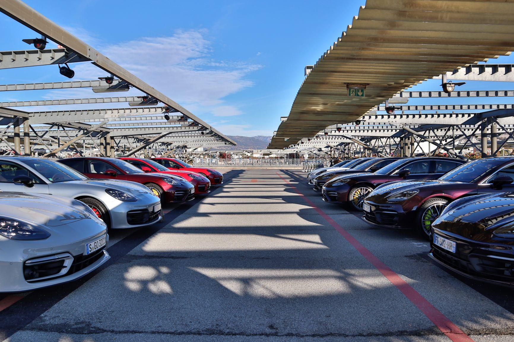Porsche panamera gamme
